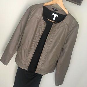 Apt. 9 Faux leather jacket